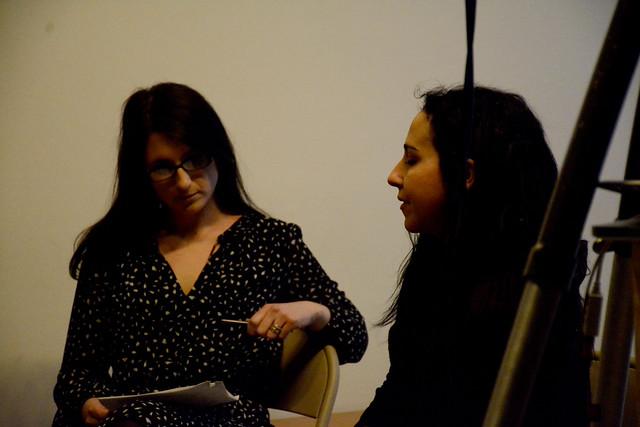 "RU TALK: Beatrice Scaccia's developing work, ""Little Gloating Eve"
