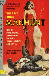 Perma Books M-3111 - Scott and Sidney Meredith - The Best from Manhunt