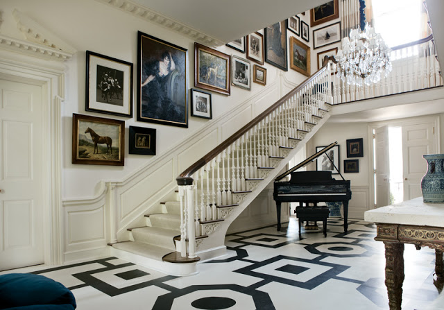 The Atlanta Symphony Showhouse In 2012 Was Particularly Memorable As It A Philip Shutze Designed House From 1920s Note That Stairs Wrap Over