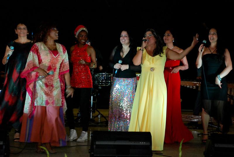 Con concierto femenino se cerraron actividades del Mes de la Mujer