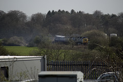 55022 working 6V54 Class 334 unit move from Brodies Kilmarnock - Yoker with newly refurbished 334010 12/04/14...