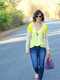 Style Blog Yellow Cardi 014