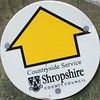 Shropshire County Council Footpath Waymarker by 40019 Caronia