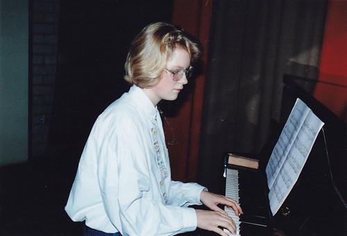 muziekavond schooljaar  1990-1991