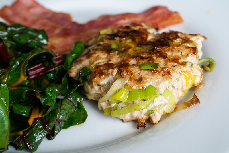 aip paleo pork and leek burgers
