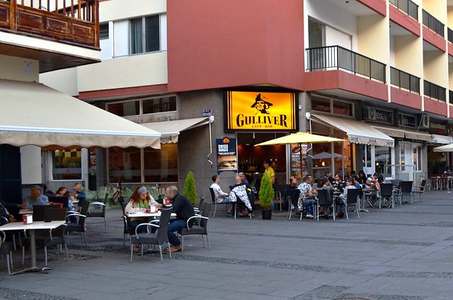 Gulliver Cafe Bar, Puerto de la Cruz, Tenerife