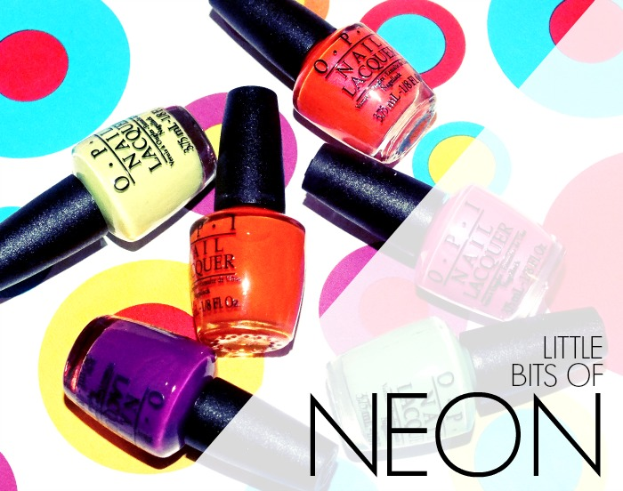OPI Little Bits of Neon (5)