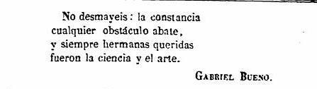 Discurso de Gabriel Bueno en la inauguración del Centro de Artistas e Industriales de Toledo. El Tajo, 31 marzo de 1866