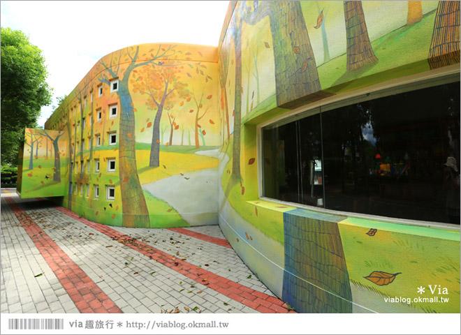 【彰化村東國小】彰化彩繪國小~夢幻繪本風!童話小屋居然在校園裡現身了4