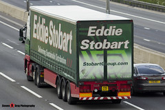 Volvo FH 6x2 Tractor - PX11 EYF - H4810 - Jessica Amy - Eddie Stobart - M1 J10 Luton - Steven Gray - IMG_9133