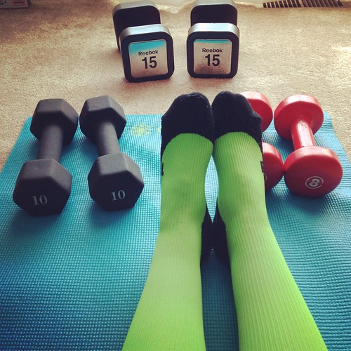 Time for the free weights