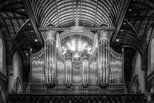 The Christ Church Cathedral's Lively-Fulcher Organ (B&W)