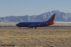 N293WN - 36612 2387 - Southwest Airlines - Boeing 737-7H4 - Albuquerque, New Mexico - 141229 - Steven Gray - IMG_1382