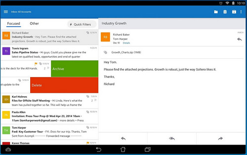 Outlook for Android (preview)