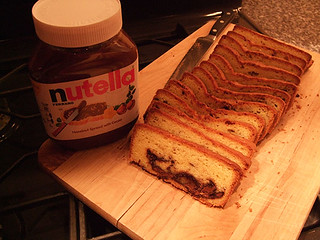 World Nutella Day 2015: Nutella Pound Cake