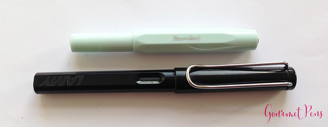 Review Kaweco Sport Skyline Mint Fountain Pen - Broad @CouronneDuComte @Kaweco (6)