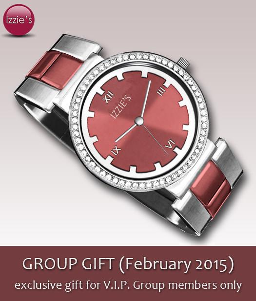 V.I.P. Group Gift February 2015