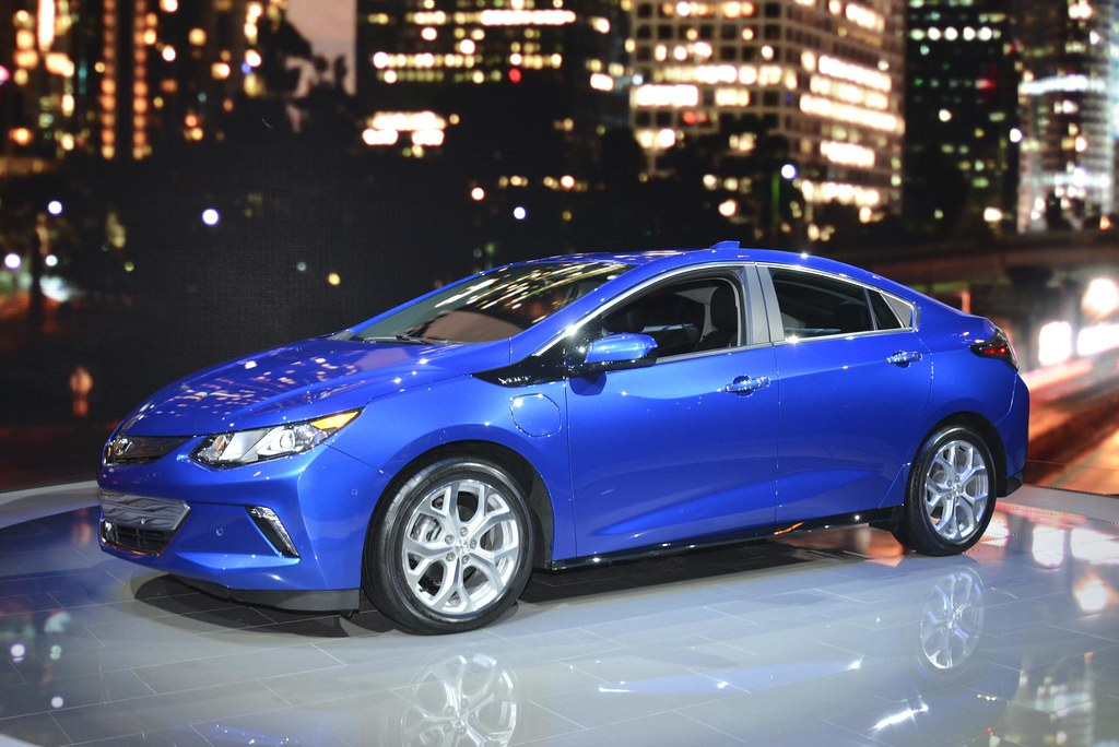 2016 Chevrolet Volt live photos: 2015 Chicago Auto Show