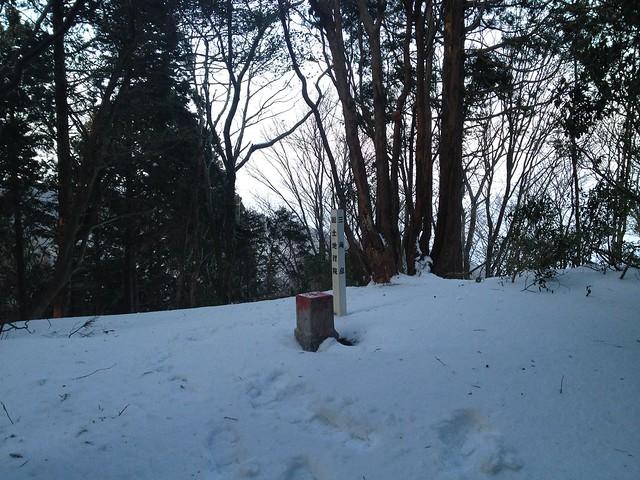 志津山 山頂小広場