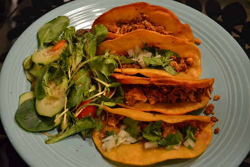 Chef Alex's Chorizo Tacos