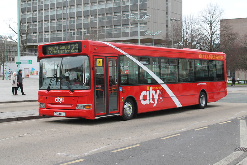 Plymouth Citybus 033 T133EFJ