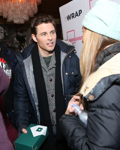 James Marsden at ChefDance Media Lounge at Sundance
