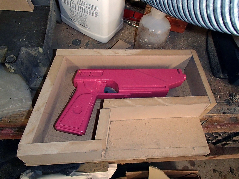 Pistol Boxed for Molding