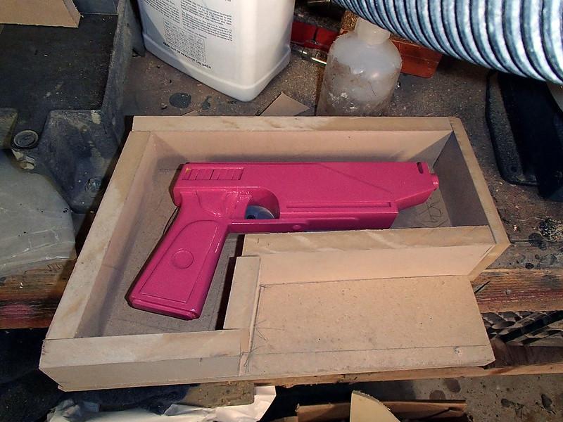 Pistol Boxed for Molding