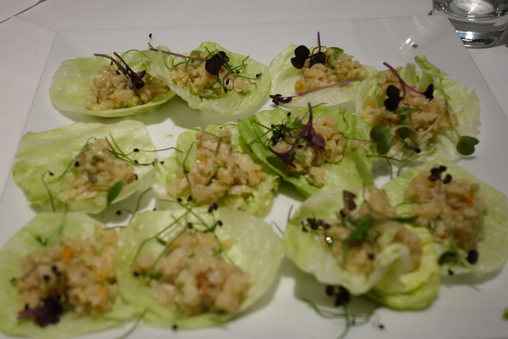 Chinese lettuce wraps, le chinois