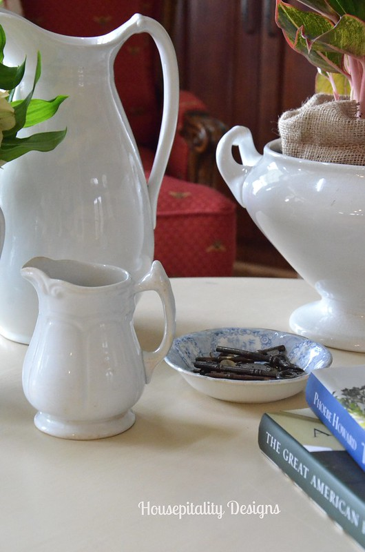 Ironstone Pitcher/creamers-Housepitality Designs