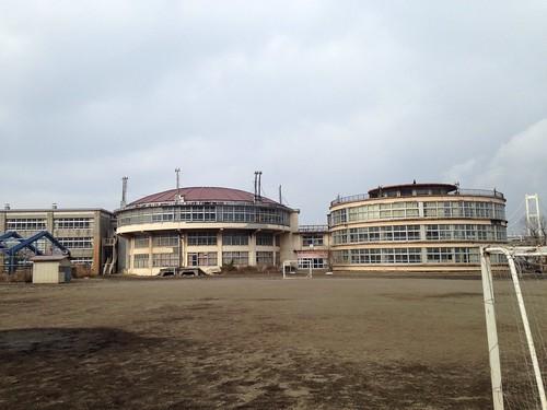 絵鞆小学校も閉校になります