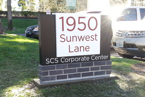 Sunwest SCS monument - north