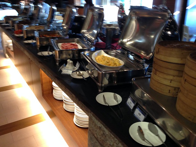 我最愛的培根與炒蛋@日月潭大飯店