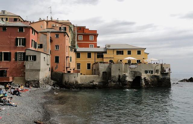 Ristorante in mare - Boccadasse (Genova)