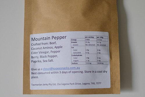 Mountain pepper nutrition facts