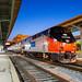 Toledo Nights: Amtrak 156 by Wheelnrail