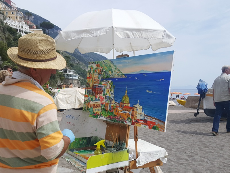 Positano painter