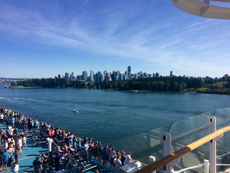 Cruise from Vancouver to Seattle