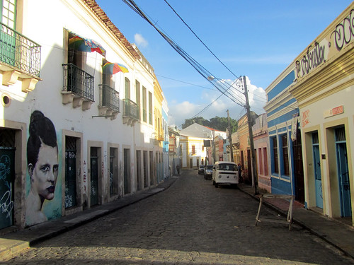Artsy neighbourhoods in Olinda