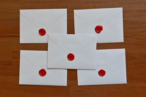 Wax Sealed Envelopes