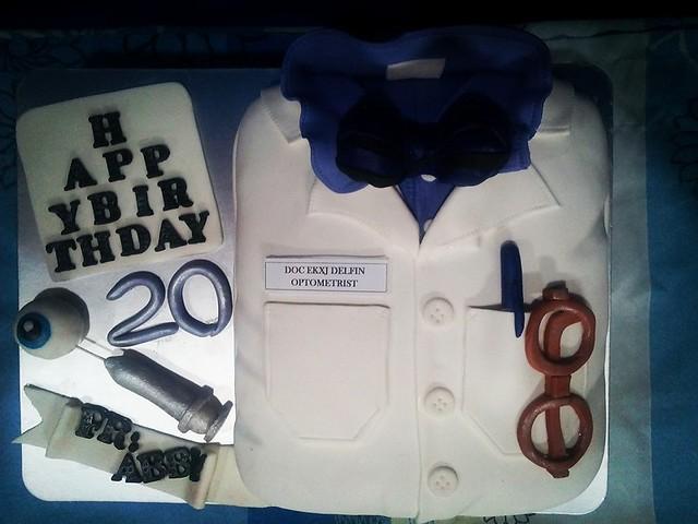 Optometrist Cake by Sharyl Jane Mangaron Alo