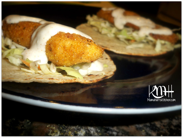 fish tacos with creamy fish taco sauce mama harris 39 kitchen
