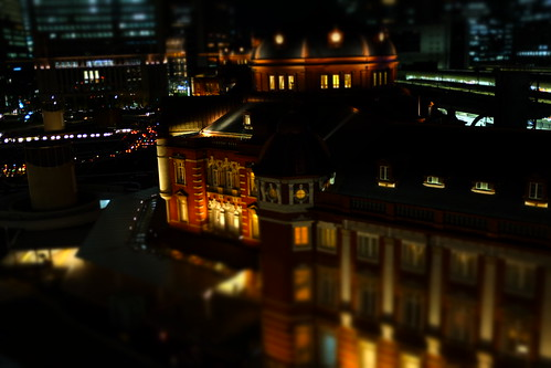 miniature mode Tokyo Station 01