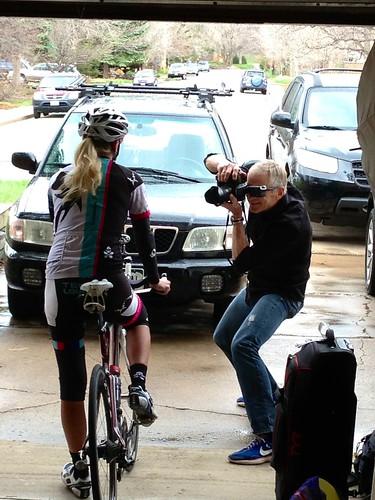CycleOps photo shoot