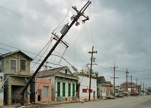 Robert Polidori, St. Bernard Avenue and North Robertson Street, 2005