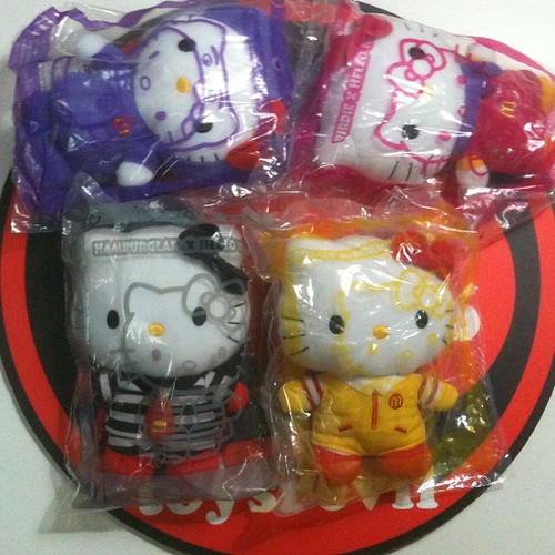 Hello Kitty McDonalds Plush