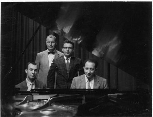 Music Faculty-Rene Frank with Ken Mays, Ira Gerig, Richard Elmer