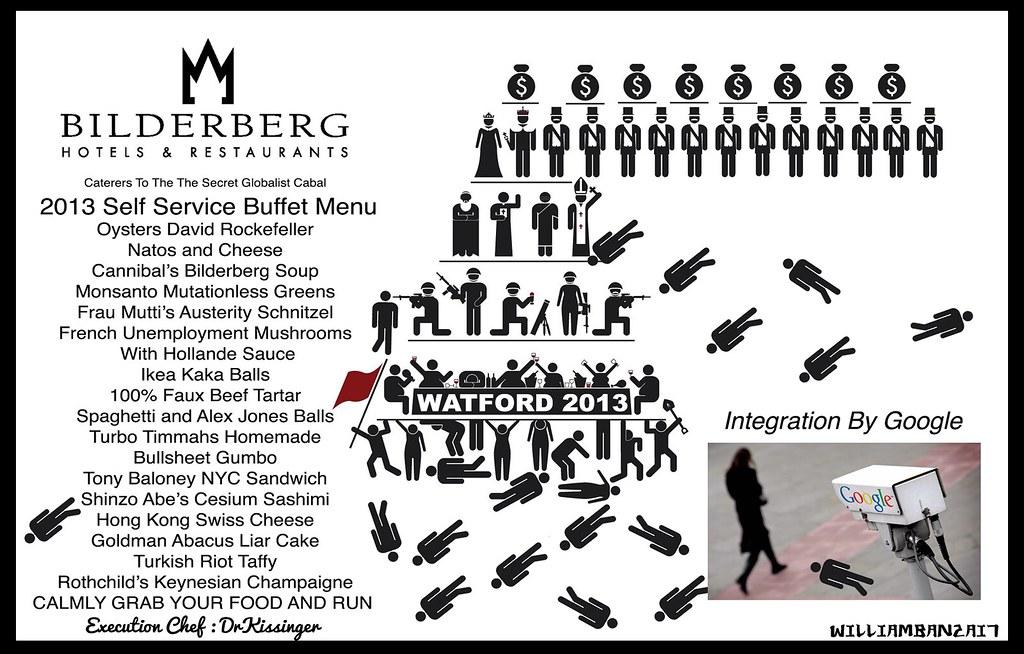 BILDERBERG BUFFET MENU 2013
