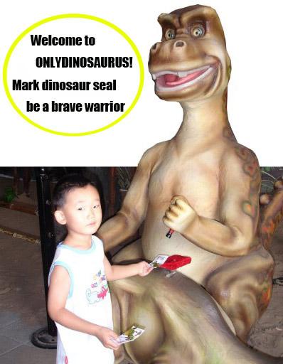 Dinosaur Stamper
