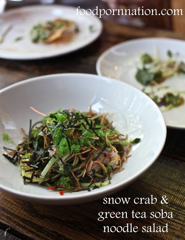 snow crab soba salad